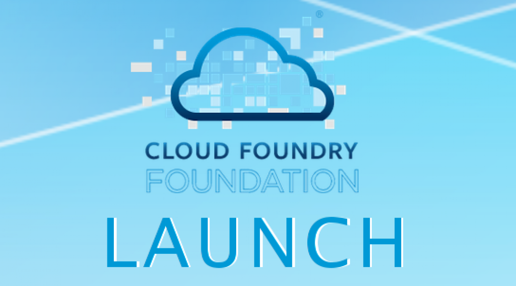 Cloud Foundry - Stiftung